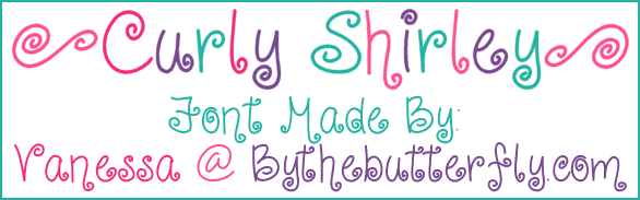 Curly Shirley font.