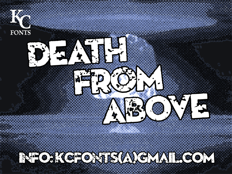 Death From Above font.