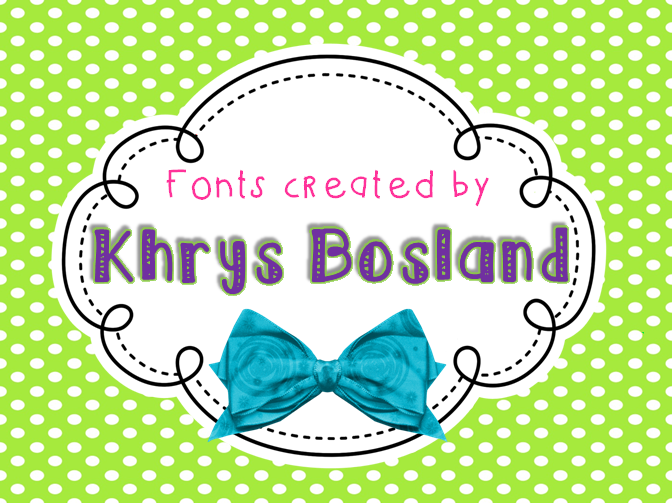 KB Ribbons And Bows font.