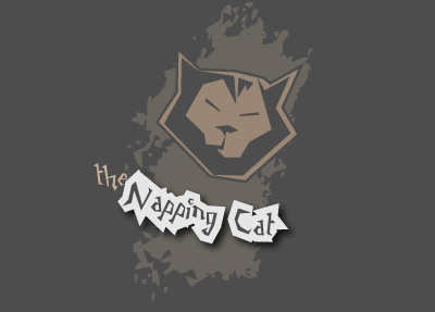 Napping Cat font.