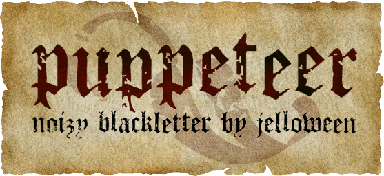 Puppeteer font.