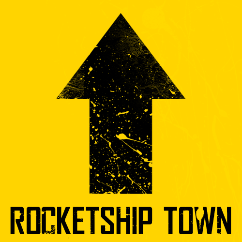 Rocketship Town font.