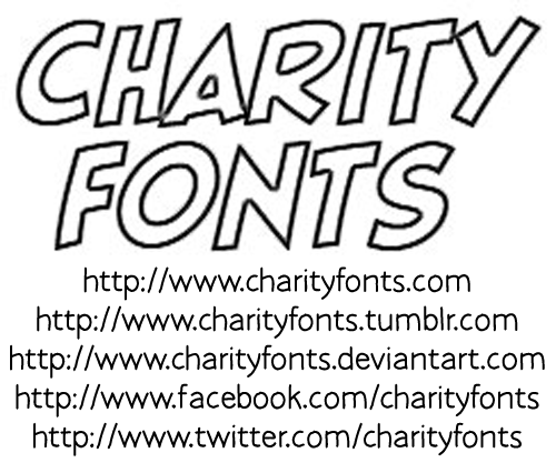 Save The Honeybee font.