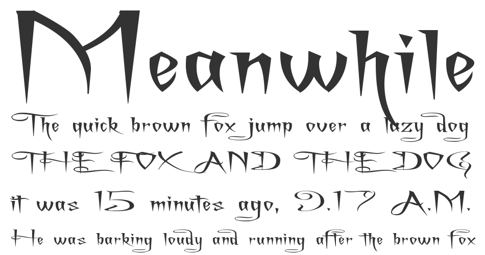 A Charming Font Superexpanded, Regular
