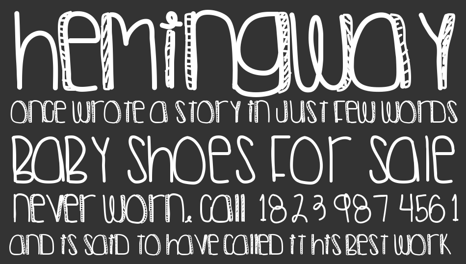 Another Night Out font