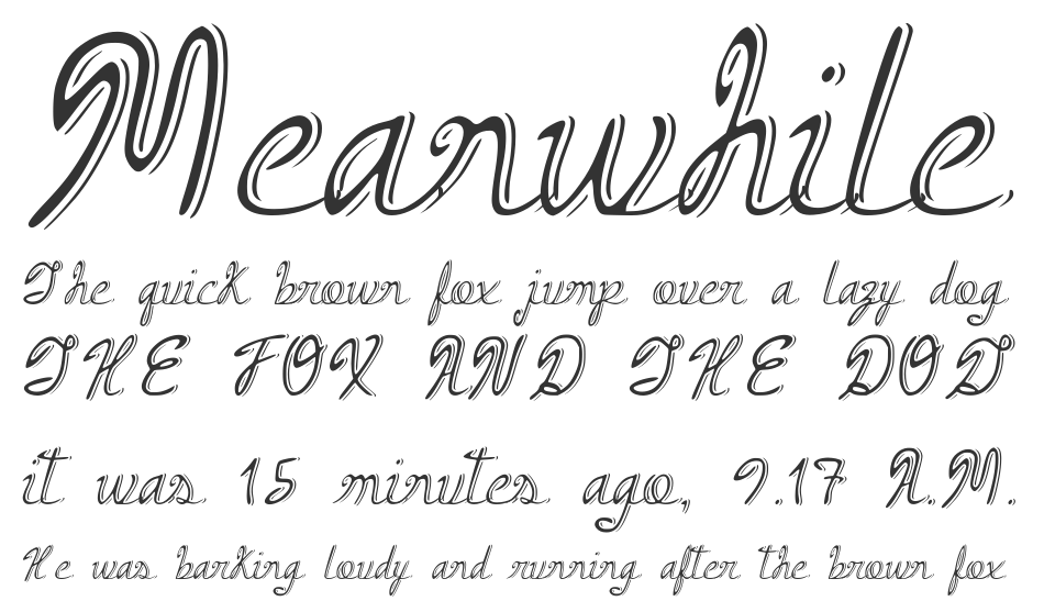 Armand Cocktail font