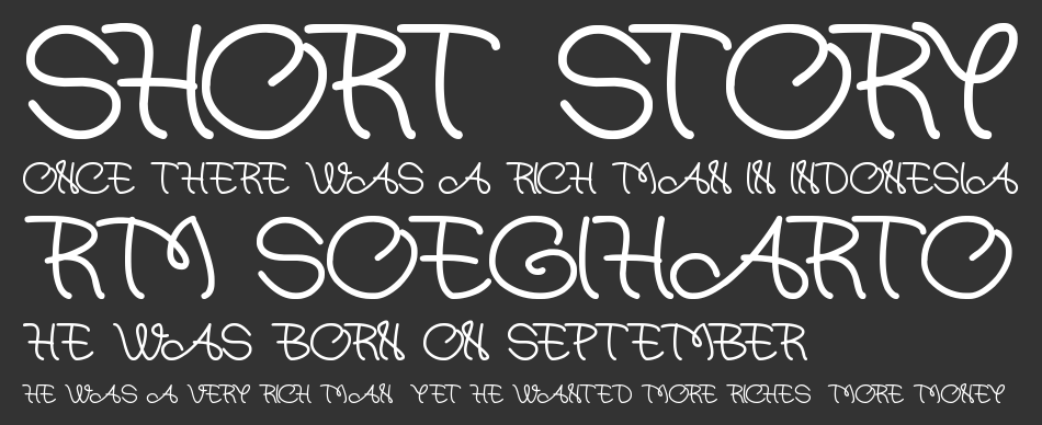 At most sphere font