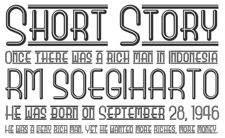 Beauty School Dropout II font