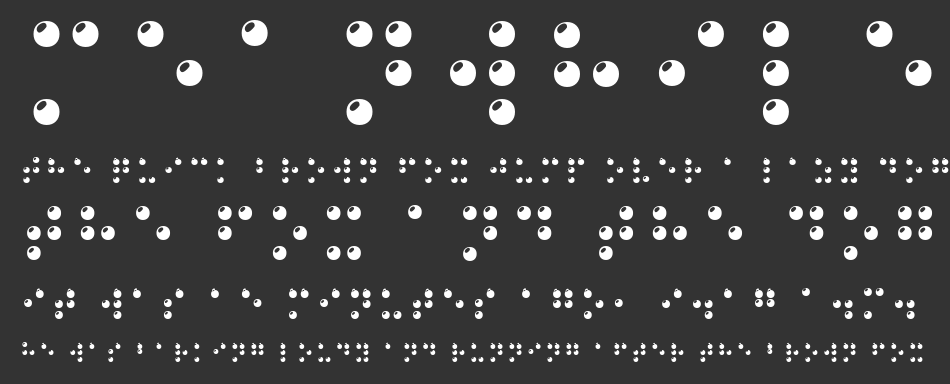 Braille 3D, Regular
