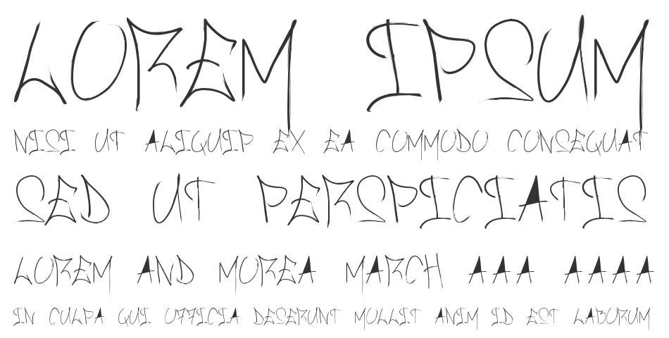 Brush Of Anarchy font