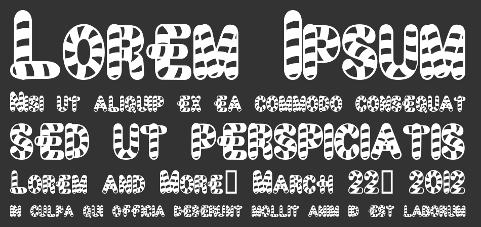 Candy Time font