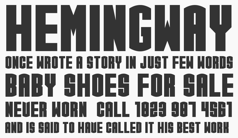 CGF Arch Reactor font