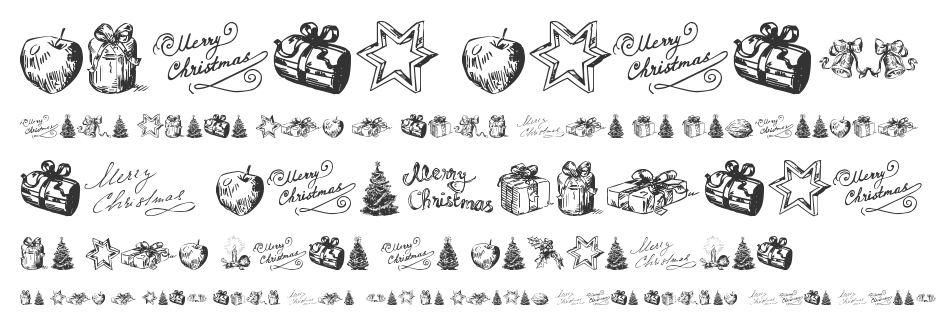 Christmas Nativity TFB font