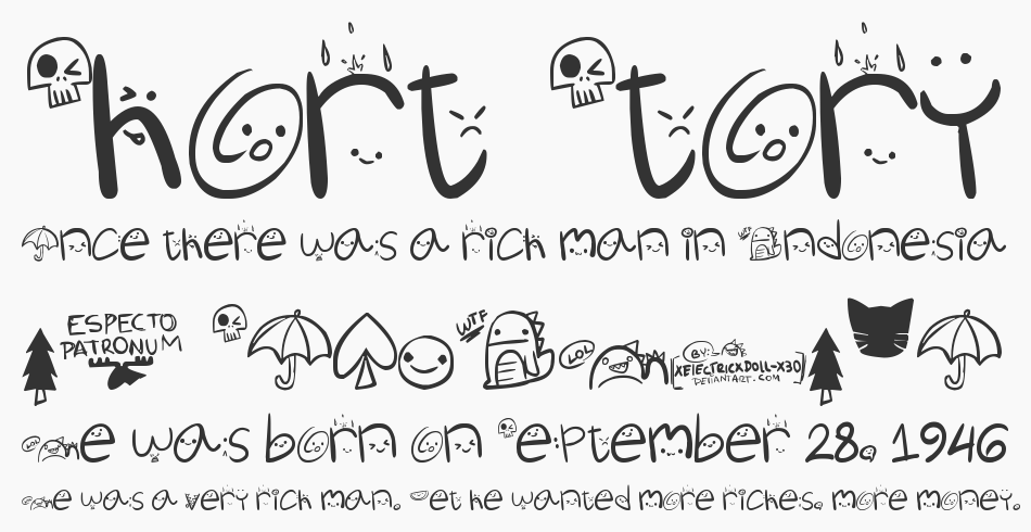 Churli Cute font