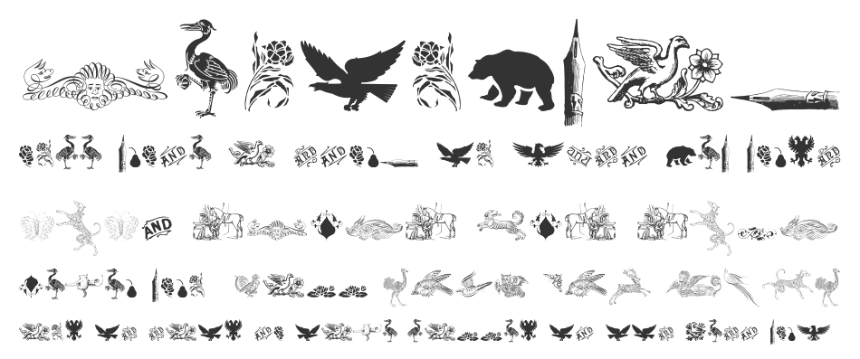 Cornucopia Of Dingbats Three, Regular