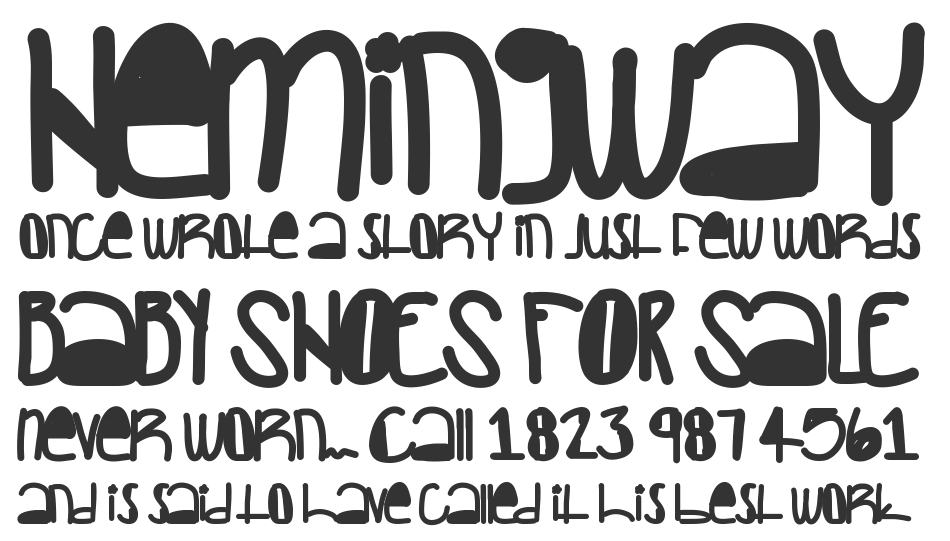 Creepers font