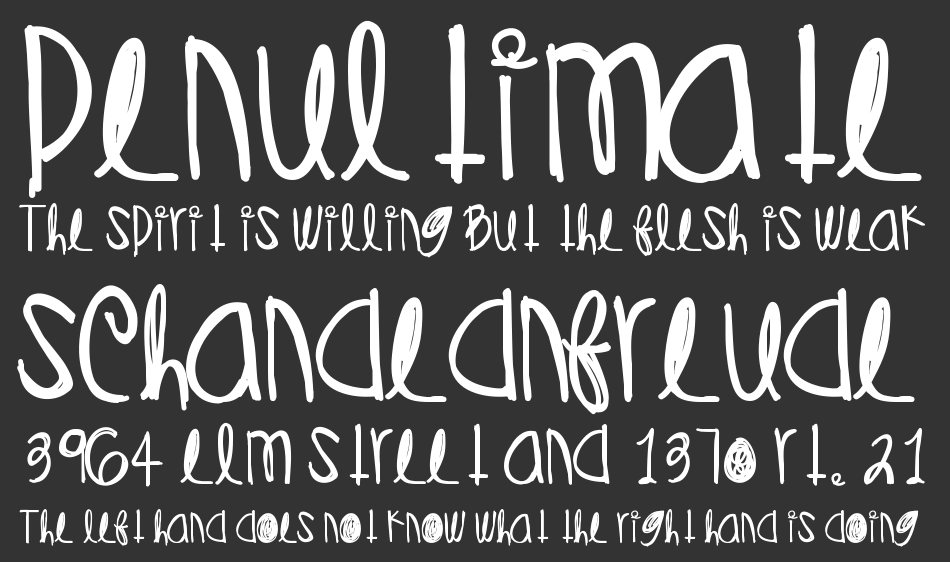 Diamonds Pearls font