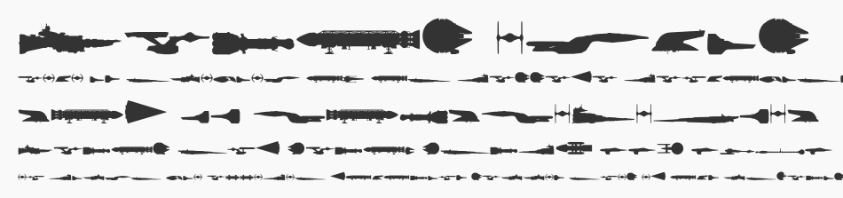 Famous Spaceships, Regular