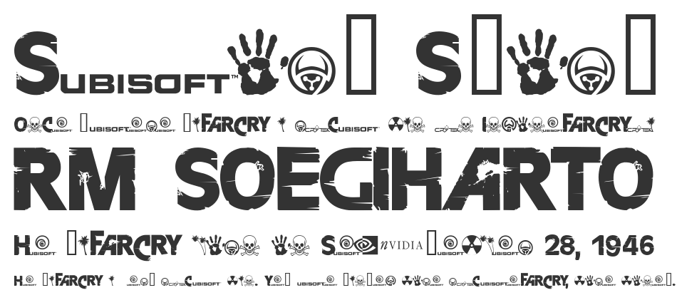 FarCry font