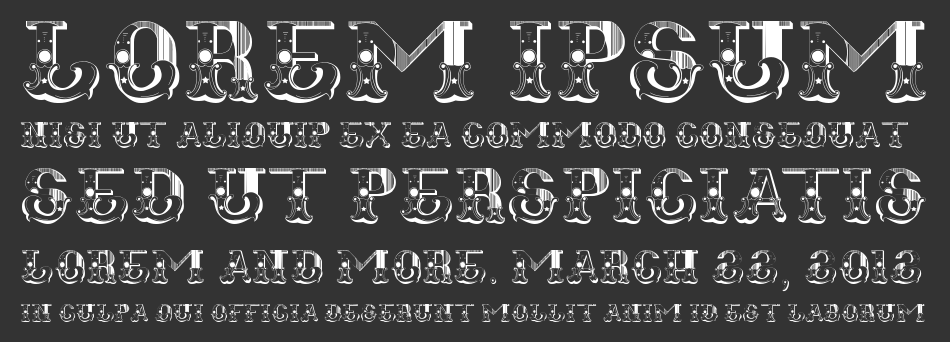 Font is labeled as western font fugitiva font family has 1 variant