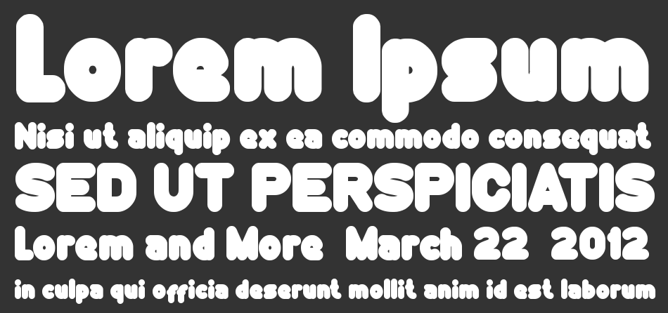 Funny And Cute font