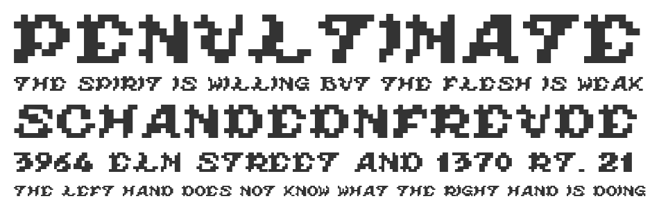 Ghouls Ghosts and Goblins font