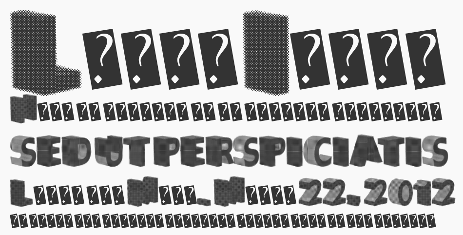 Greater Shadow font