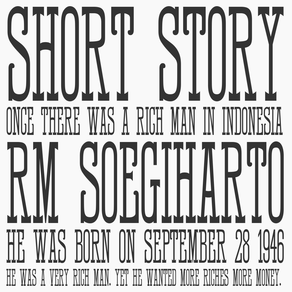 HFF Quick Draw font