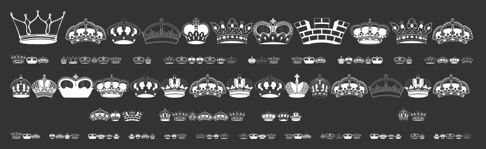 Intellecta Crowns font