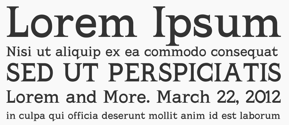 Kingthings Serifique font