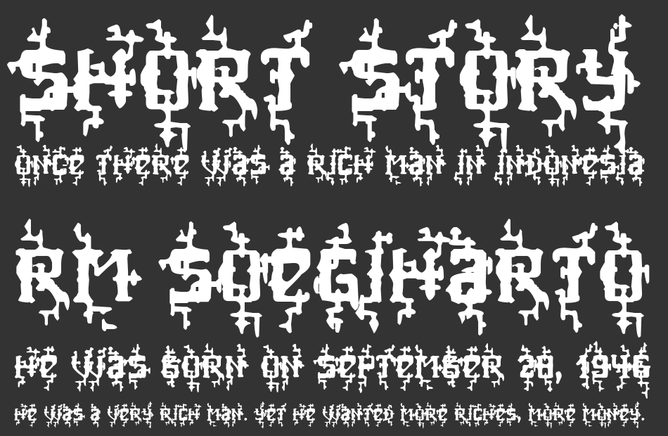 MB Poisoned Type font