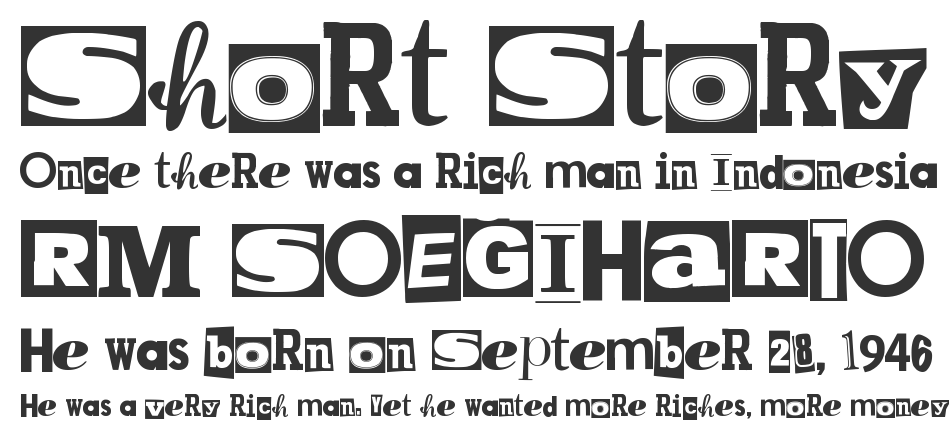 MPF Kidnapped font