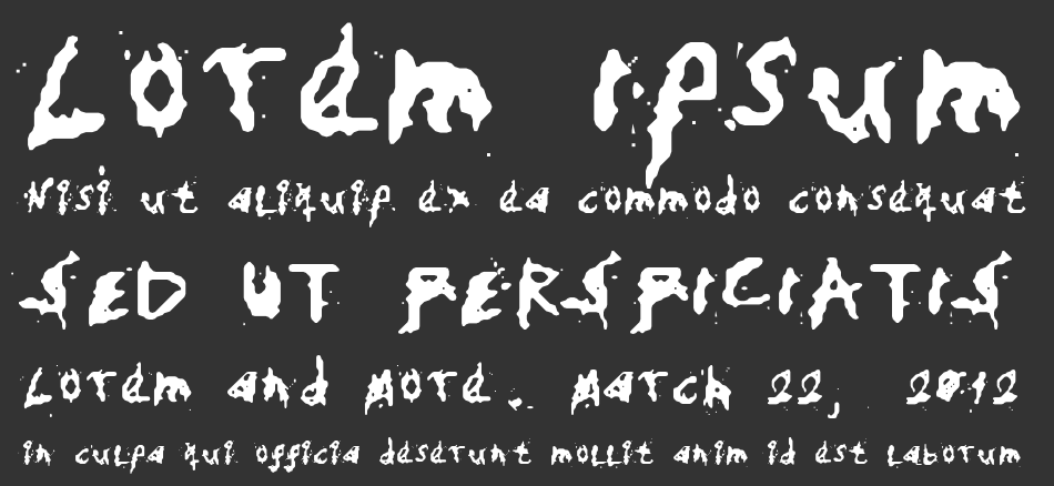 My Hand Fights font