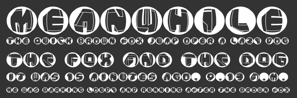 NeoPanButtons, Regular