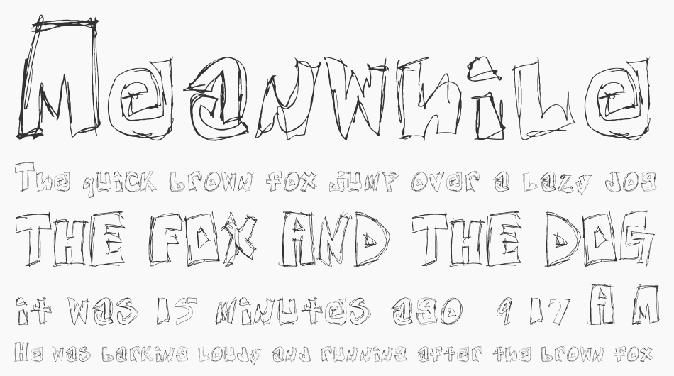 Free Nights and Weekends font