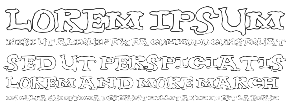 Nighthour font