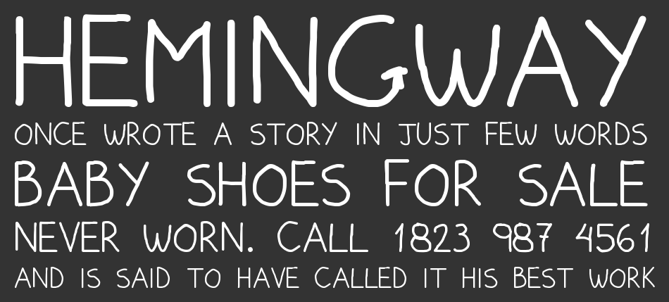 Pumped Up Kicks font