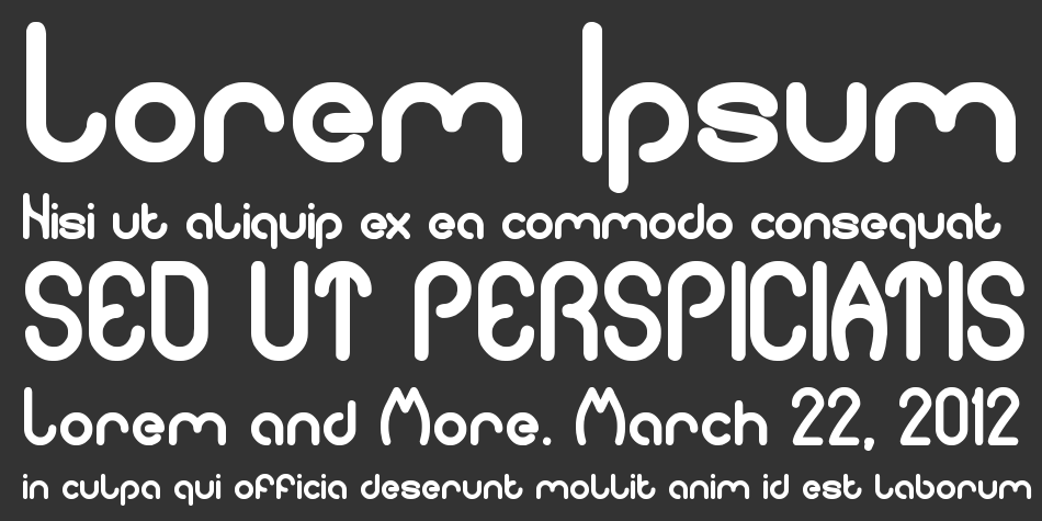Pure and simple everytime font