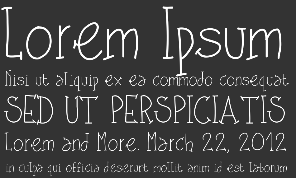 PW Shes Amazing font