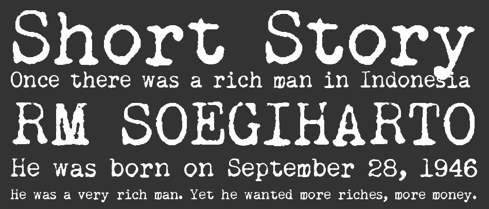 Remington Noiseless font