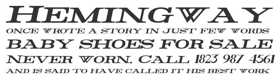 Rider Wide, Expanded Bold Italic
