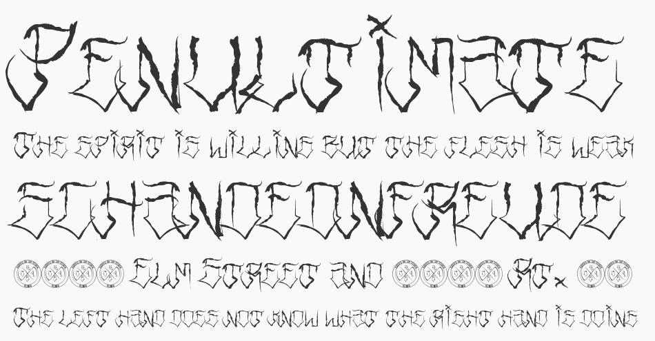Riders Font, Regular