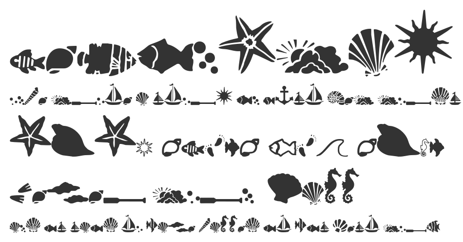 SC By The Sea font