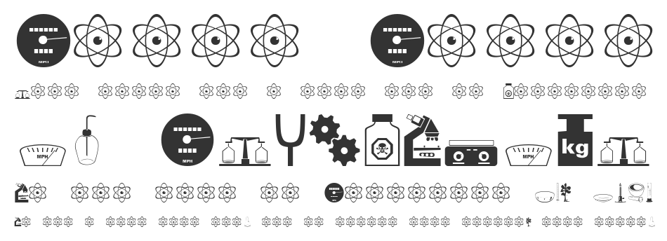 Science font