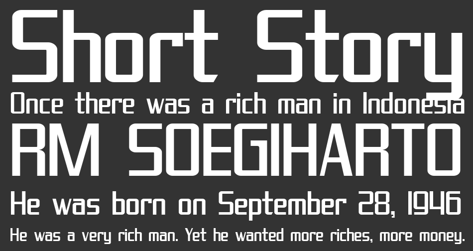 SF Theramin Gothic font