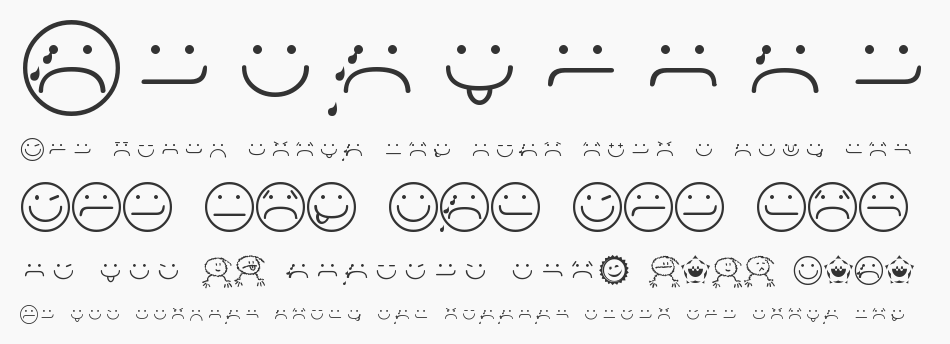 Smileyface Font 3, Regular
