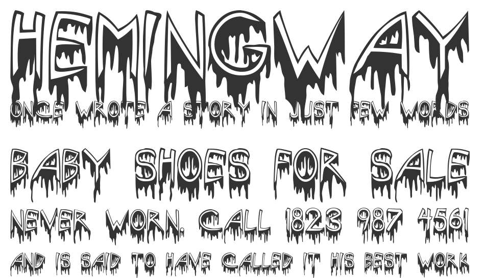 Solstice Of Suffering font