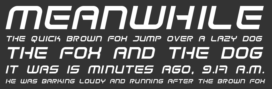 Space Frigate font