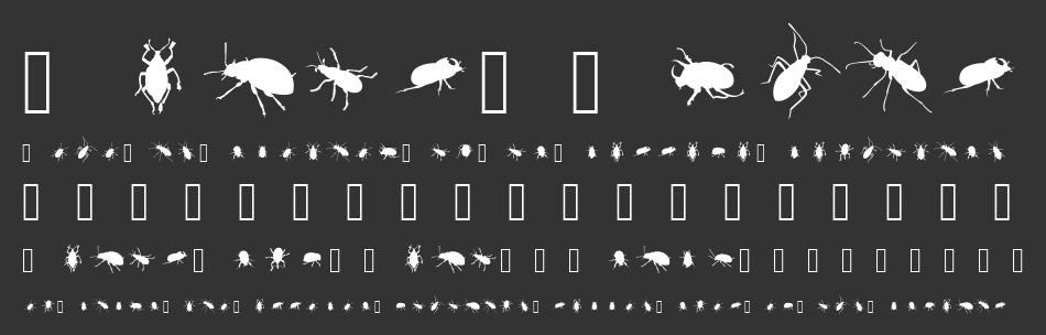 The Beetles font