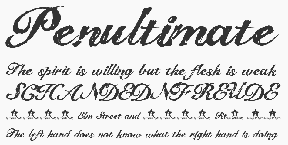The Dreamer Font By Billy Argel All Rights Reserved Personal Use Only Commercial Licenses Contact Bi, Regular